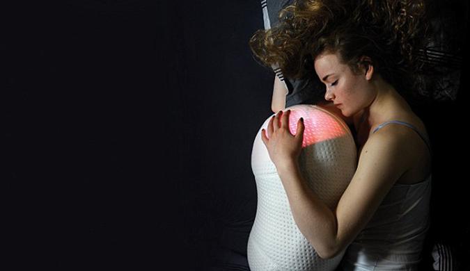 失眠怎么办?花生状机器人枕头改善睡眠质量