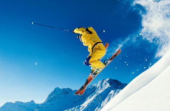 滑雪 摔跤也是技术活