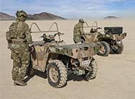 澳军在美国测试这款四轮摩托车