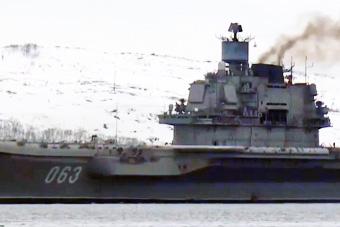 辽宁号姊妹舰初战告捷返回母港