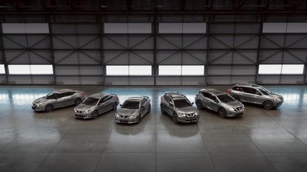 视觉效果出色 日产6款车型推出选装包