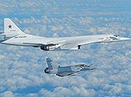 俄军图160巡航惊动多国空军