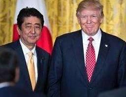 关注丨特朗普与安倍会谈:用全部军力保卫日本 含核武