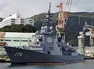 军港内日本最强驱逐舰非常显眼