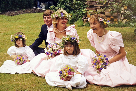 英照片展记录英式婚礼时尚百年变迁