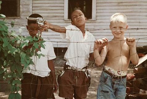 美国老照片反映二战后黑人真实历史