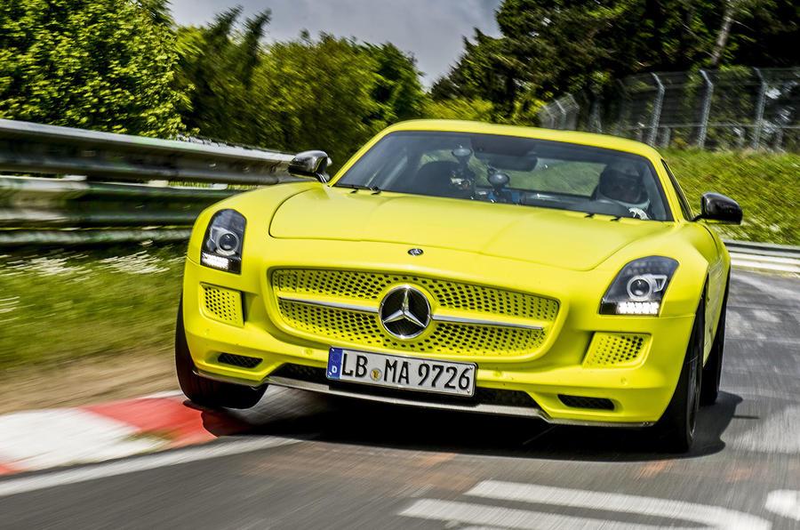 奔驰考虑研发纯电动AMG高性能车型
