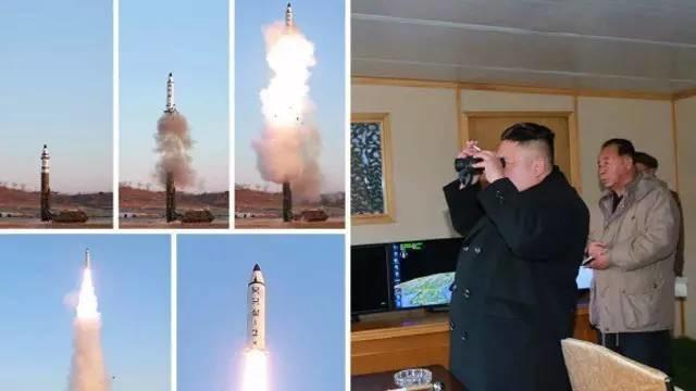 朝媒公布发射导弹现场画面 试射导弹,朝鲜意欲一石三鸟!