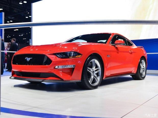 2017芝加哥车展:新款Mustang GT首发