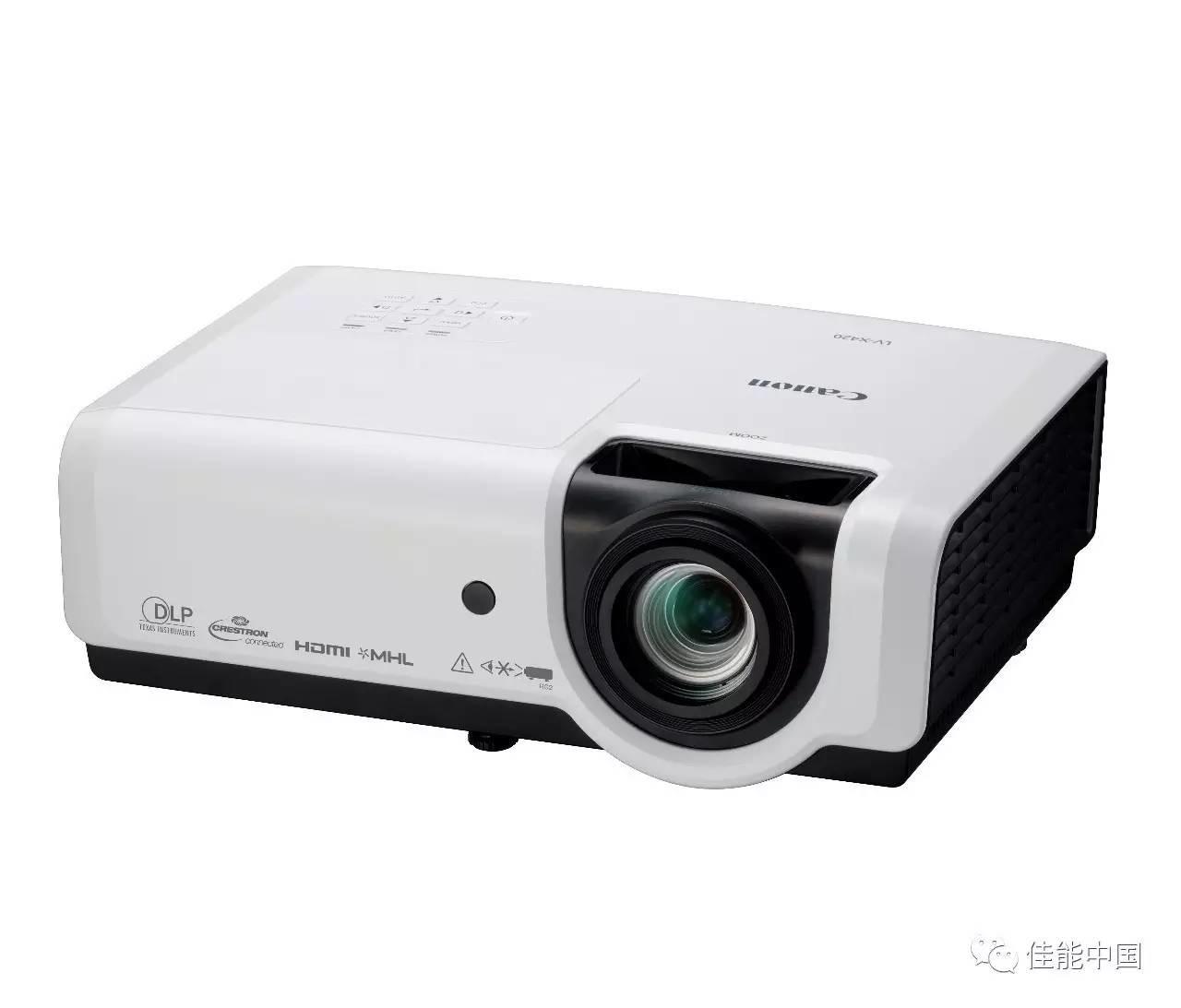 佳能面向商教市场推出LV-X420便携式DLP投影机新品