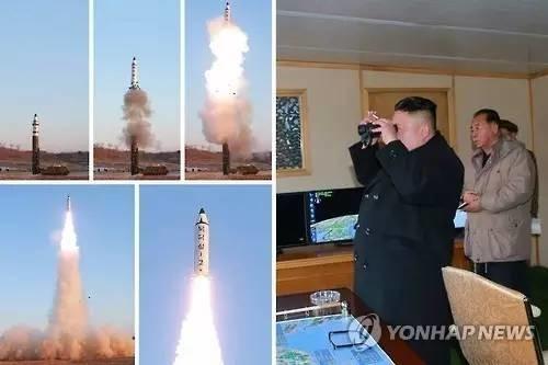 """金正恩坐镇""""新战略武器""""试射,朝鲜:我们成功了!"""