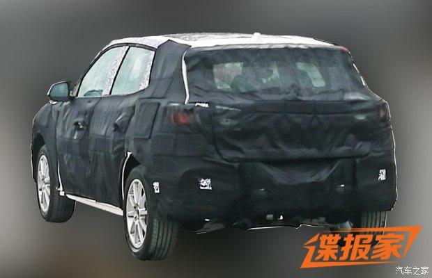 进一步丰富产品线 曝荣威全新SUV谍照