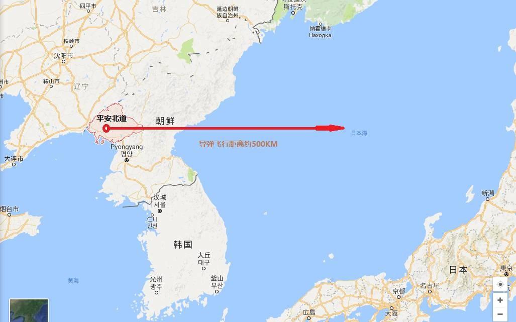 朝鲜新射导弹戳中了谁的心坎?