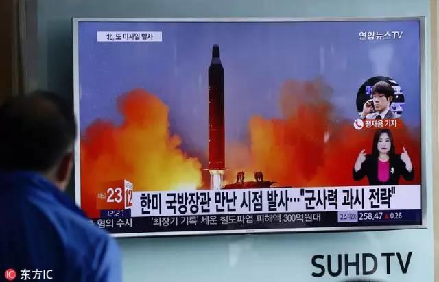 社评:朝鲜再发导弹,它在等特朗普接招