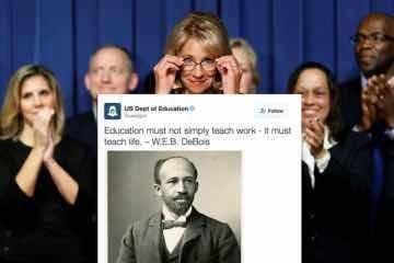 坑爹!美国教育部这个丑出得太不是时候了