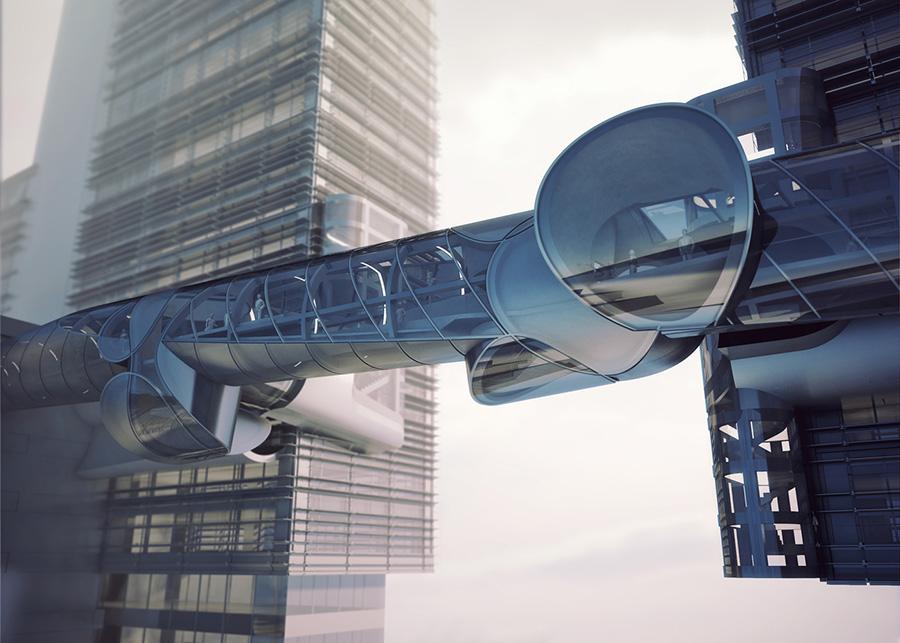 在空中穿梭的无人机观察台或亮相深圳