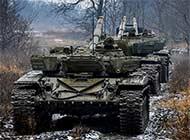 这国家陆军训练坦克炮管全朝后