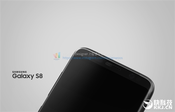 Galaxy S8批量渲染图:红蓝绿灰齐亮相