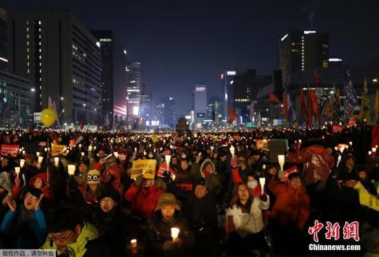 朴槿惠就任总统4周年将至 韩民众拟举行反对集会