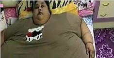 世界最胖女子重1000斤被起重机送去医院减肥
