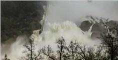 美国最高大坝可能溃坝