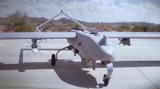 美军无人机失踪 600英里外被发现原因成谜