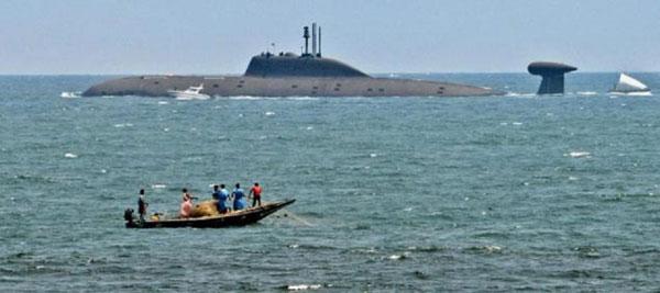 俄专家:印度查克拉号核潜艇完胜中国现役装备