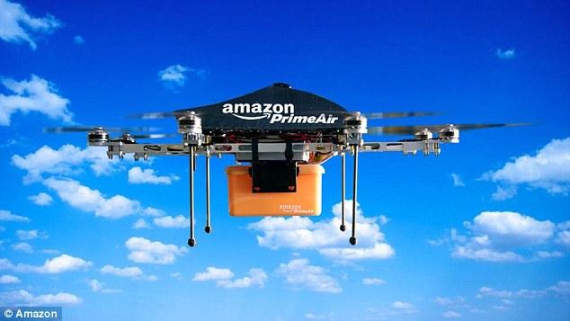 怕把飞机偷走?亚马逊无人机或使用降落伞投放快递