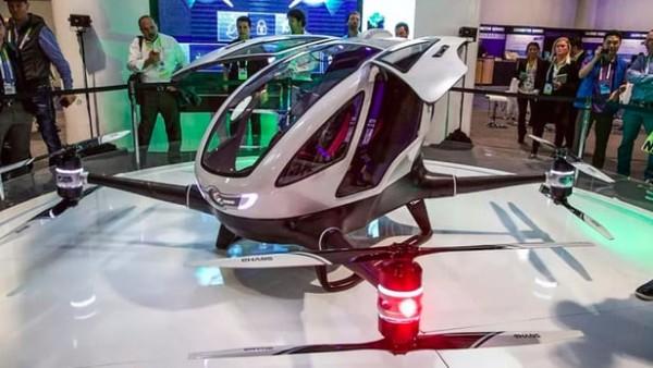 迪拜计划7月尝试使用载人无人机 为中国制造