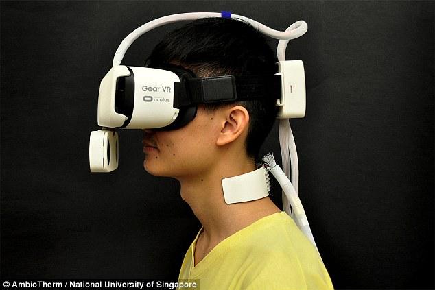 VR设备可模拟天气 带你体验寒风暖阳