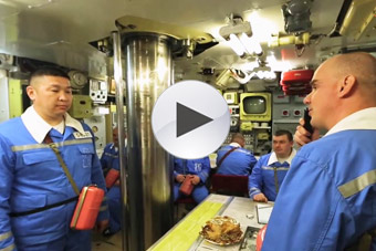 俄德尔塔IV核潜艇内部大揭秘