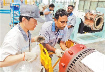 中企在印度掀起投资热潮
