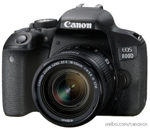 #新品来袭#2月15日,佳能(中国)推出普及型数码单反相机新品EOS 800D