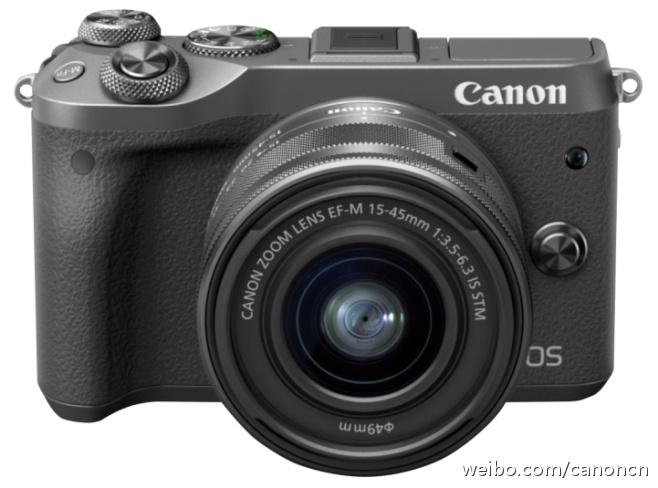 #新品来袭#2月15日,佳能(中国)宣布推出微型可换镜数码相机新成员EOS M6