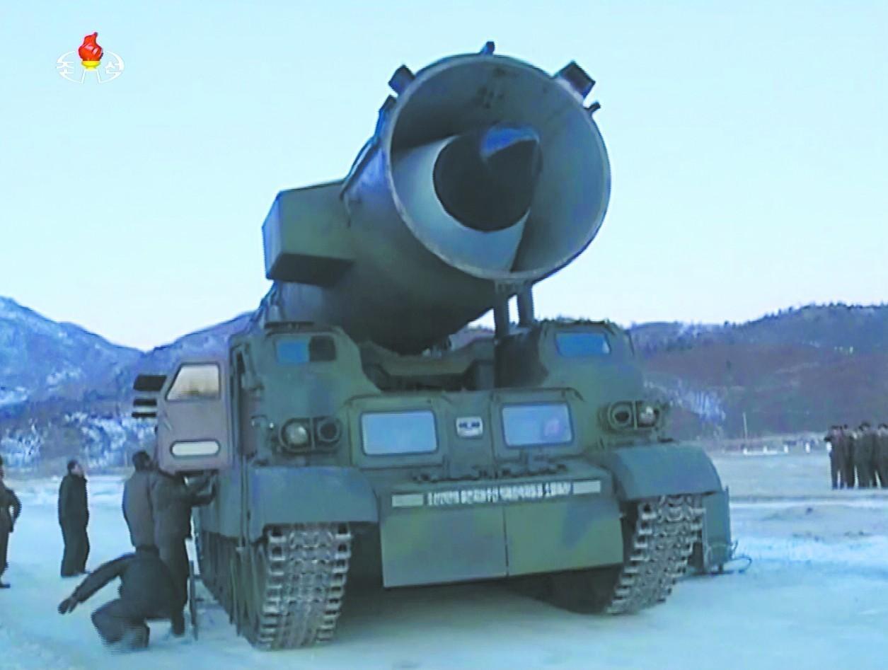 【实拍】朝鲜最新导弹发射现场,距中国仅70多公里!