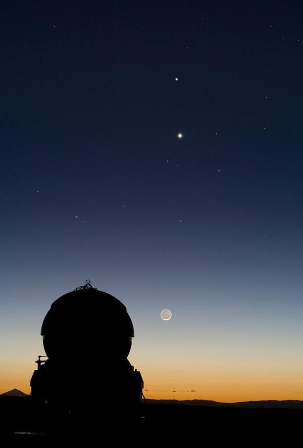 金星17日将达全年最亮:灿若宝石亮如明灯