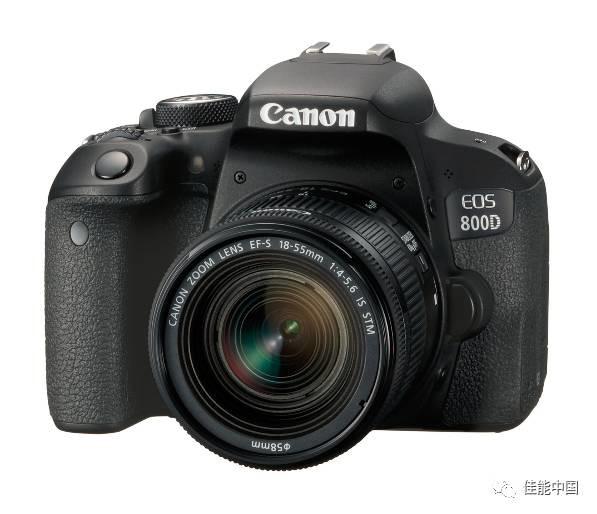 开启单反摄影之门,佳能发布普及型数码单反相机EOS 800D