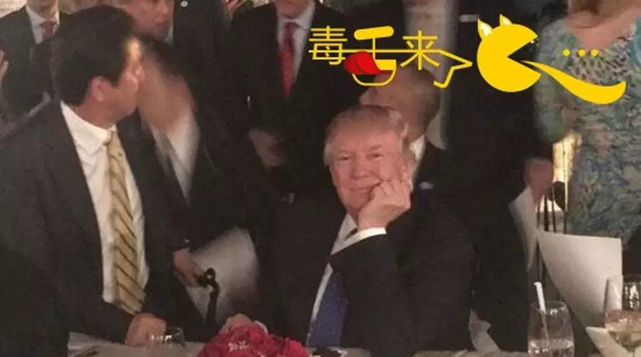 """【毒舌来了】这组""""偷拍照片""""让特朗普戴上不专业帽子"""