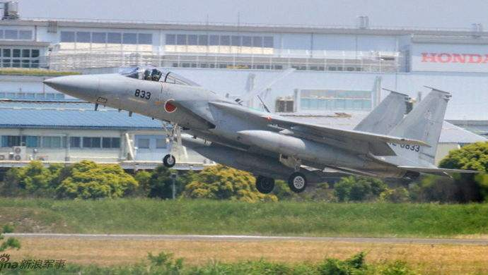 日战机10个月紧急起飞上千次 针对中国占大头