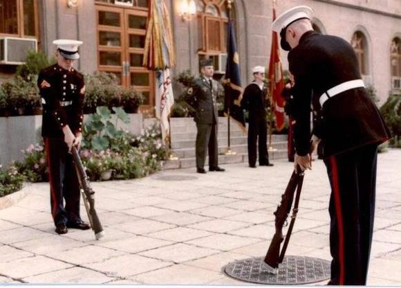 台媒:美国或派海军陆战队进驻驻台办事处