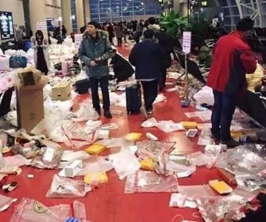 中国游客真没素质?记者亲身体验韩国济州机场……