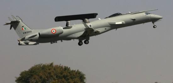 30多年!印度国产预警机终交付 性能弱于中巴