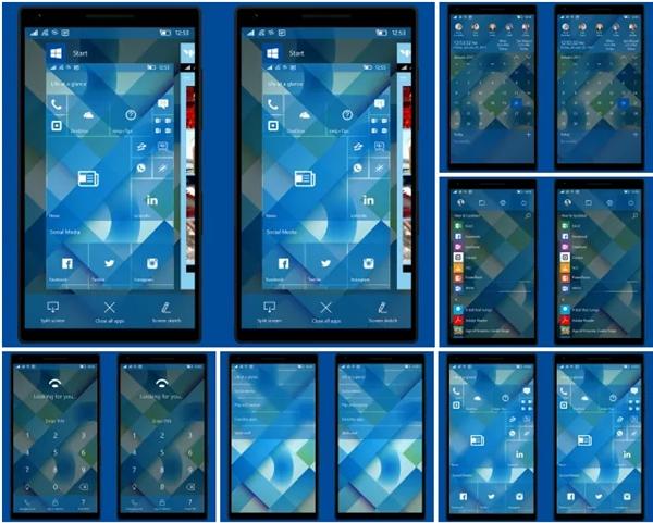 Windows手机概念设计曝光:网友也是操碎了心