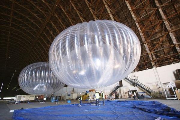 谷歌联网气球技术重大突破 部署成本下降