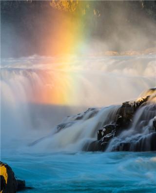 盘点各地彩虹奇观 看世界也能如此斑斓