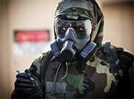 驻日美军培训化学品泄露处理