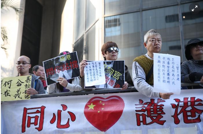 """香港七警殴打""""占中""""者均被判入狱两年 警务督察协会称刑罚不合理"""