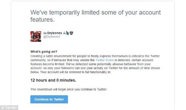 推特出招过滤不当言论 违规者将被锁定12小时