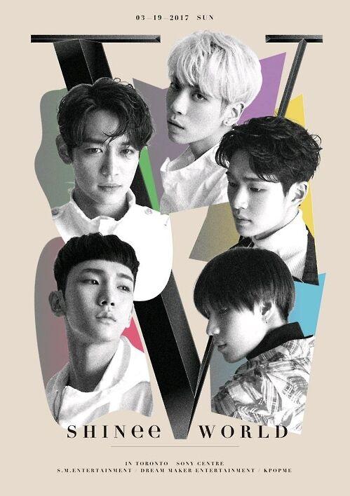 韩男团SHINee首次北美巡演3月启幕