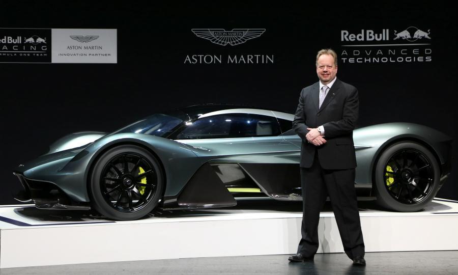 寄望新款跑车 阿斯顿马丁预计2018年盈利